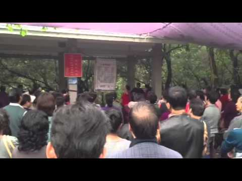 Yuexiu park singing