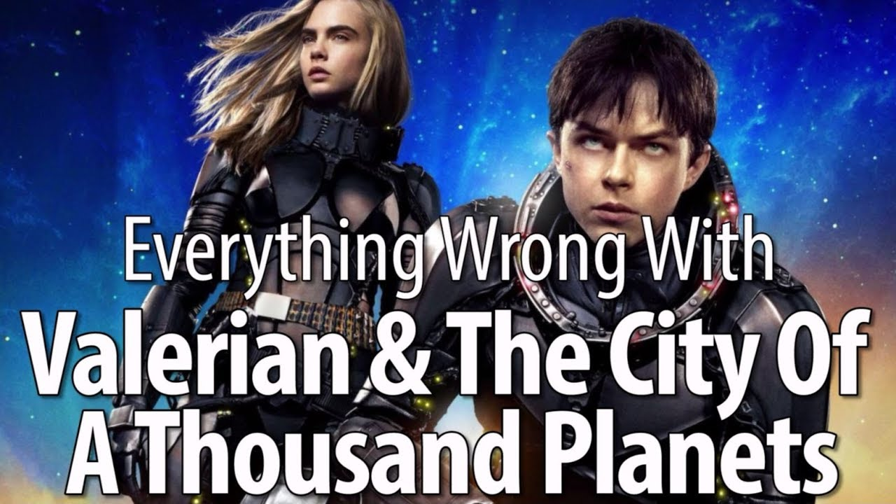 Download Everything Wrong With Valerian & The City Of A Thousand Planets