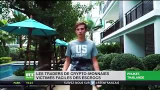CryptoBoss (Максим Мернес) на французском телевидении (ЛОЛ)