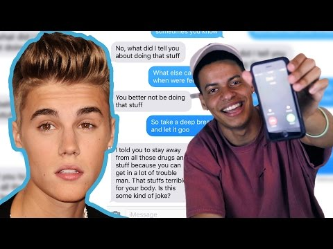 Pranking my DAD with Justin Bieber's 'Cold Water' Lyrics