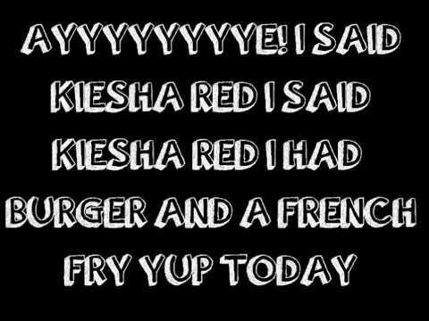 Yung Poppy Feat. Kiesha Red - If You Want A Burger Lyrics