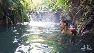 Отдых на горячих термальных источниках в Коста-Рике