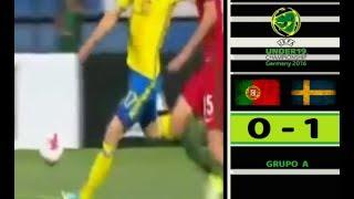 Video Gol Pertandingan Portugal U-19 vs Swedia U-19