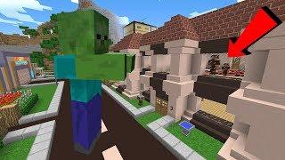 DEV ZOMBİ ŞEHRE SALDIRIYOR! 😱 - Minecraft