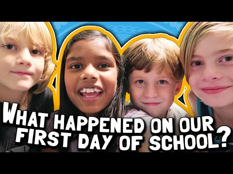 What happened on our first day of school? 🏫🎒 Back to School 2019 5th grade, 3rd, 2nd, Kindergarten