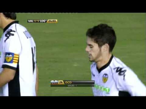 2010.11.11: Valencia CF 1 - 1 UD Logroñes (Isco)