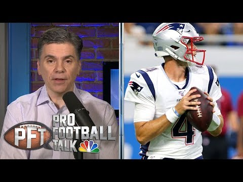 Who will replace Tom Brady at Quarterback for New England Patriots? | Pro Football Talk | NBC Sports