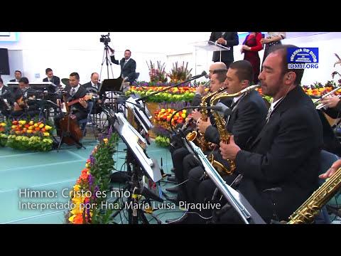 María Luisa Piraquive, Himno: Cristo es mio