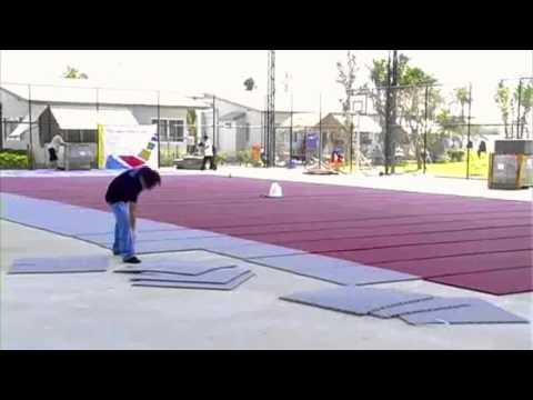 Courtflex - Multi-sports court installation 2011