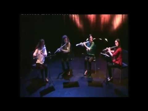 Berthamieu - Persan Bleu (Istanbul Flute Quartet)