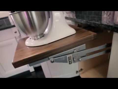Rev-A-Shelf Heavy Duty Soft Close Appliance Lift Overview