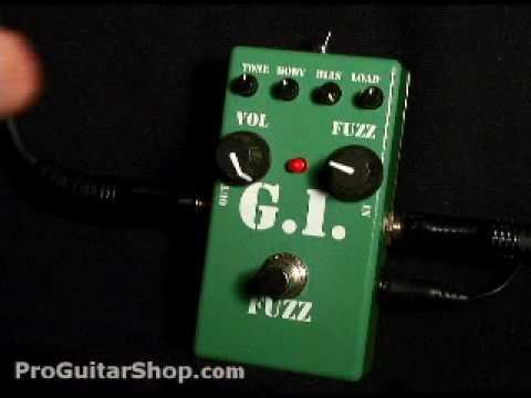 MI Audio GI Fuzz Silicon Fuzz Pedal