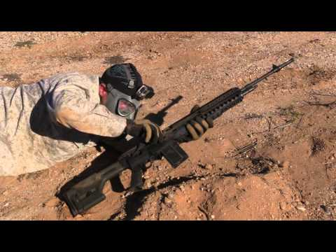 Sand Testing An AR15, M1A, And MAS 49/56