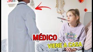 DANIELA ESTÁ ENFERMA EL MEDICO VIENE A CASA! ME HAGO PRUEBA CORON...ESTOY CONTAGIADA? NO PUEDO SALIR