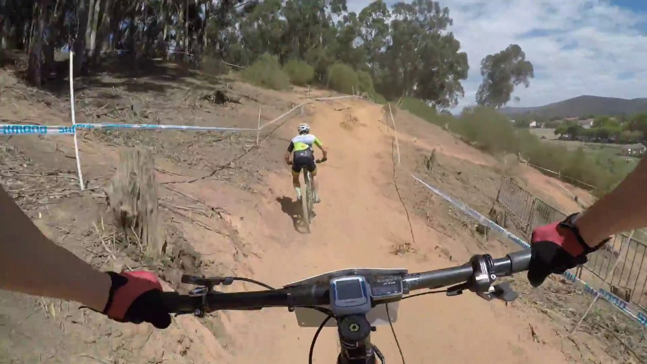 UCI Mountain Bike World Cup XCO Stellenbosch, South Africa 2018 track POV