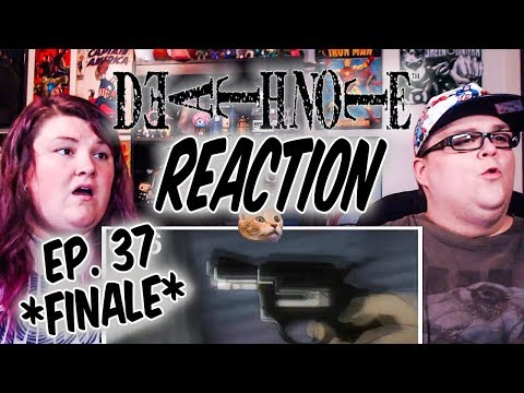"Death Note Episode 37 FINALE REACTION!! ""New World"""