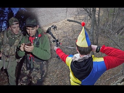 WE CAUGHT A TRESPASSER ON HALLOWEEN Clown Hunting
