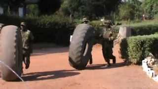 Zambian commandos training 1