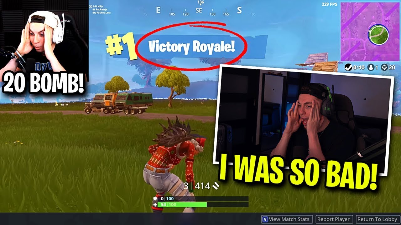Download Reacting to my BEST game ever... (old fortnite)