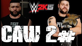 ph guy wwe 2k15 caw 2 kevin owens updated and ko attires
