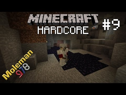 Let's Play Hardcore Minecraft #9 | Diggin' Around the Lava