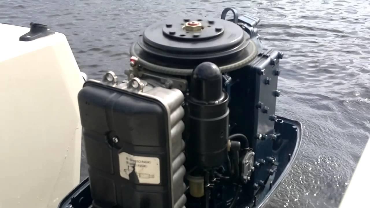 Båtmotor hackar vid full gas