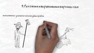 видео Устройство газона