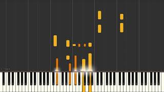 The Folks That Live On The Hill - Jazz piano solo tutorial