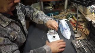 видео Ремонт утюга Tefal своими руками