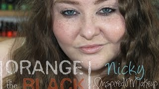 Orange is the New Black Nicky Inspired Makeup Tutorial + Collab! Thumbnail