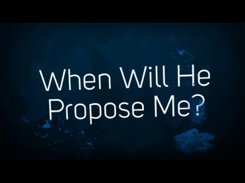 Will he propose soon