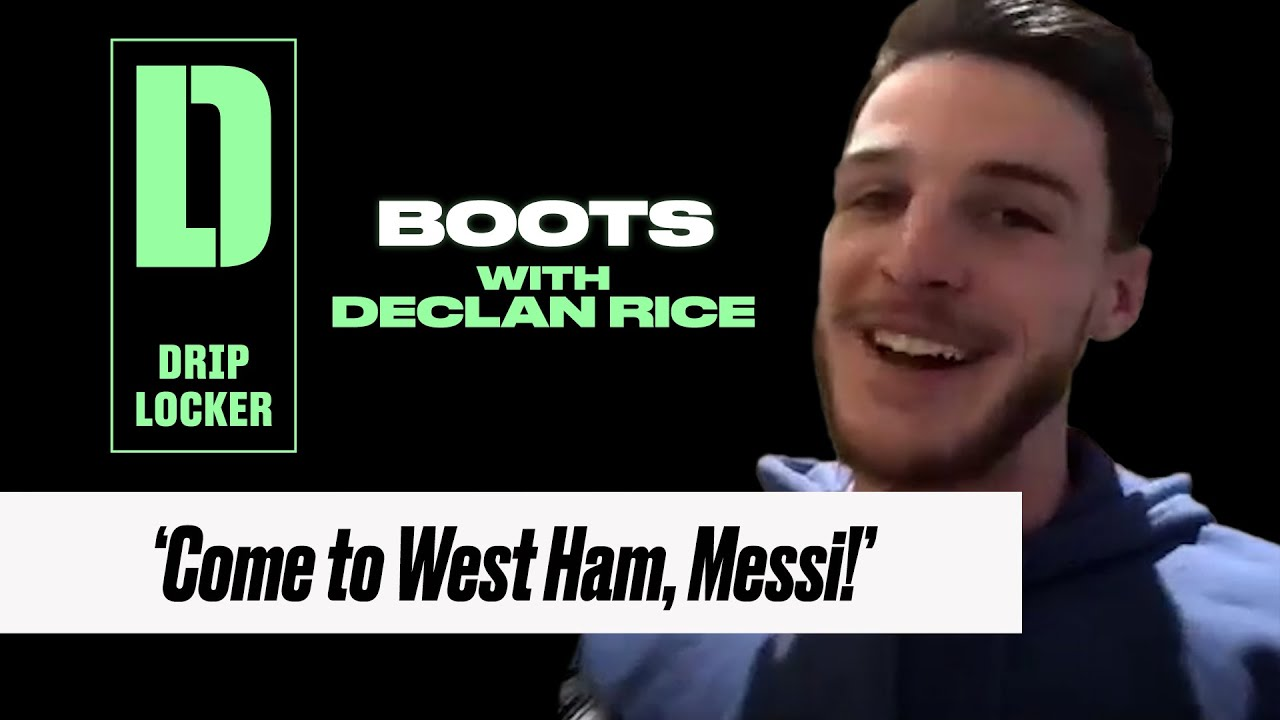 Declan Rice Takes Us Through His Insane Boot Collection | Drip Locker | SPORTbible