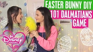 DISNEY CHANNEL VLOG | EASTER BUNNY DIY | 101 DALMATIANS GAME