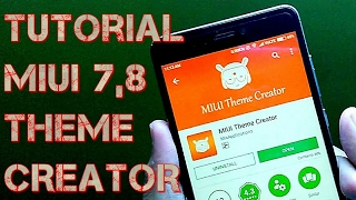 MIUI THEME CREATOR APP : MAKE THEMES EASILY | HINDI