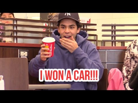 Tim Hortons Roll Up The Rim PRANK
