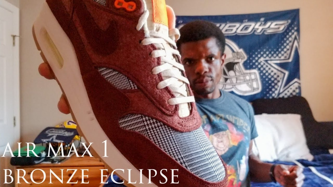 """Nike Air Max 1 """"Bronze Eclipse"""" Review"""