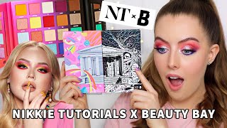 NIKKIE TUTORIALS x BEAUTY BAY PALETTE | Worth The Hype? Review & Tutorial