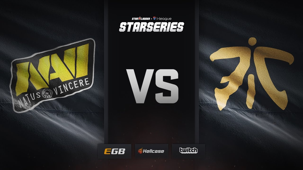 [EN] Natus Vincere vs fnatic, map 1 overpass, SL i-League StarSeries Season 3 Finals