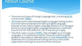 Top foreign education exam in alapuzzha