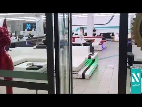 NATIVO mobilier France - Showroom Francfort, Allemagne : canapés et lits design