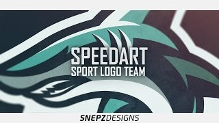 E-sport logo- Amazing Shark (Photoshop CS6)
