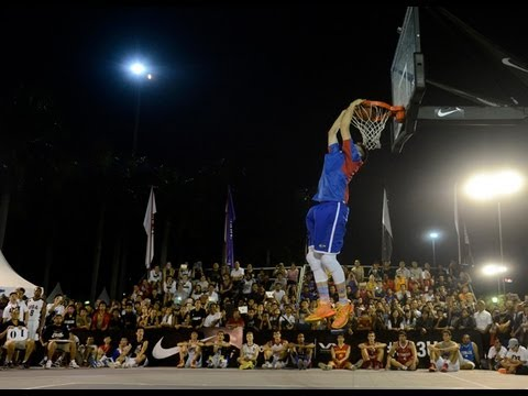 Kobe Paras wins FIBA 3x3 U18 World Championship dunk contest (VIDEO)