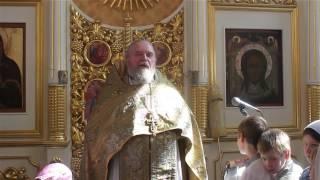 Проповедь  протоиерея Валерия Бунтеева в праздник Происхождения честных древ Креста Господня