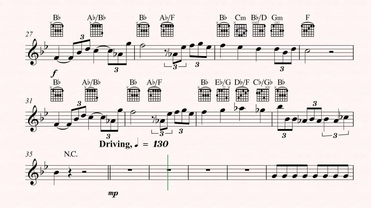 Guitar Life Is A Dream Theme Star Trek Sheet Music Chords