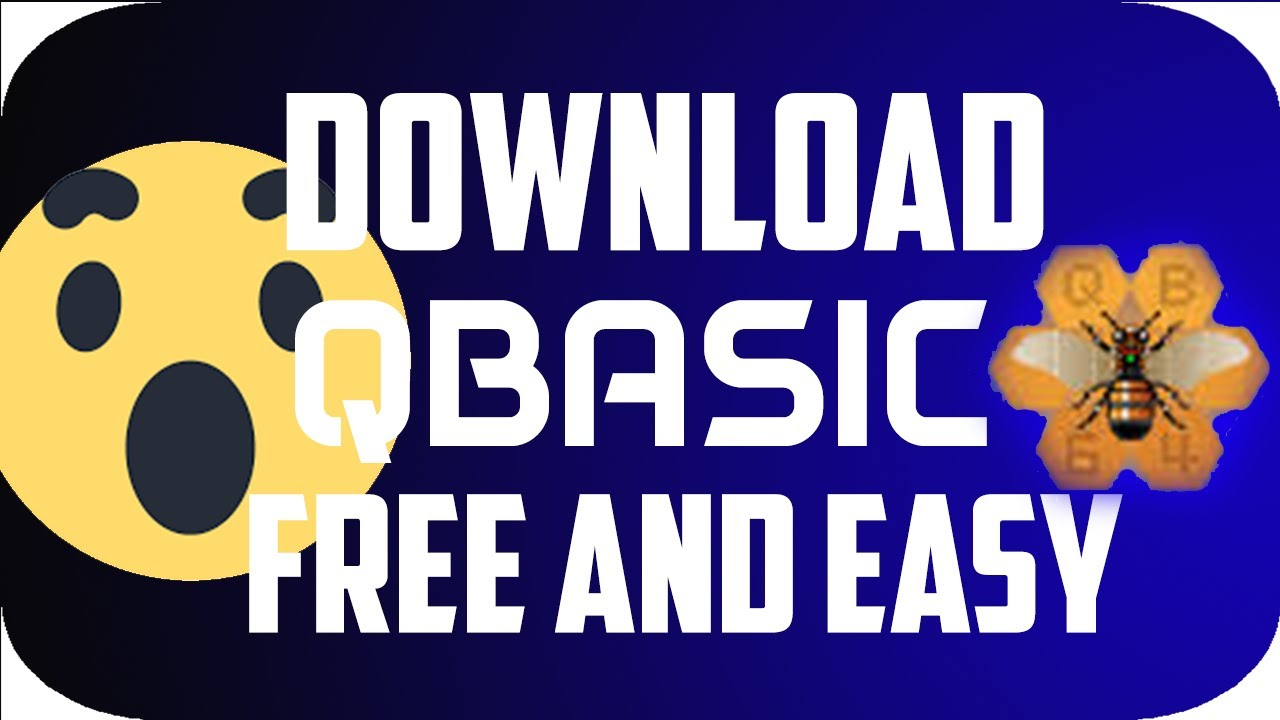 how to download QBASIC on win 7 , 8, 8 1 and 10