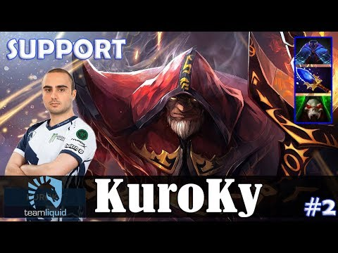 KuroKy - Warlock Roaming | SUPPORT vs zai (Lone Druid) | Dota 2 Pro MMR Gameplay #2