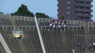 6月28日にエディオンスタジアムで行われた ルヴァン杯のFC東京応援...