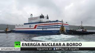 La única central nuclear naval del mundo llega al Extremo Norte de Rusia
