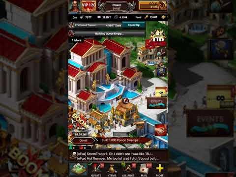 Game of War new building lvls!!