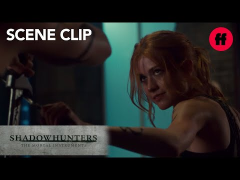 Shadowhunters | Season 3, Episode 1: Jace And Clary Spar | Freeform